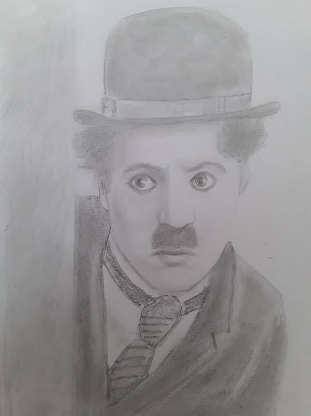 Charlie Chaplin by Papero